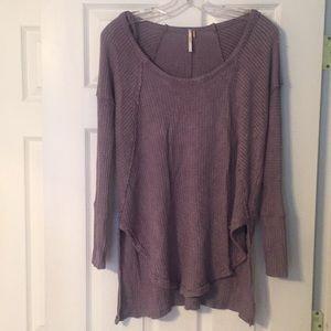SALE! Free People Thermal Tunic Sweater